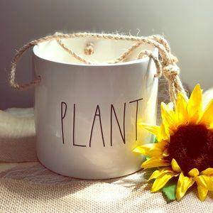 Rae Dunn Hanging PLANT planter
